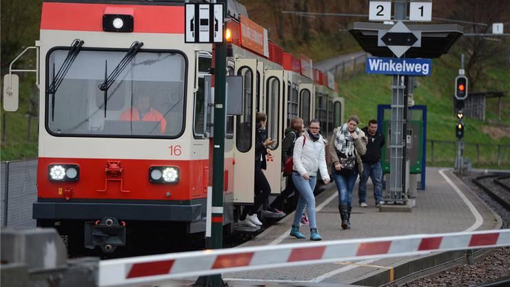 Noch vier Jahre bleibt die altehrwürdige Waldenburgerbahn in Diensten, dann wird fast alles neu.