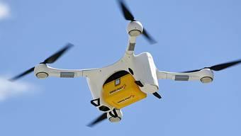 Die Drohne der Post wurde am Sonntag geortet und am Montag geborgen. (Archivbild)