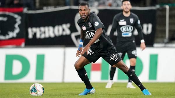 Fussball, 11. Runde, Challenge League, FC Aarau - FC Lausanne-Sport (18. Oktober. 19)
