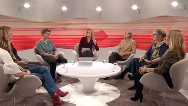 Der Frauen-Club über Männer auf SRF.