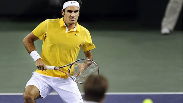 Federer auf Kurs