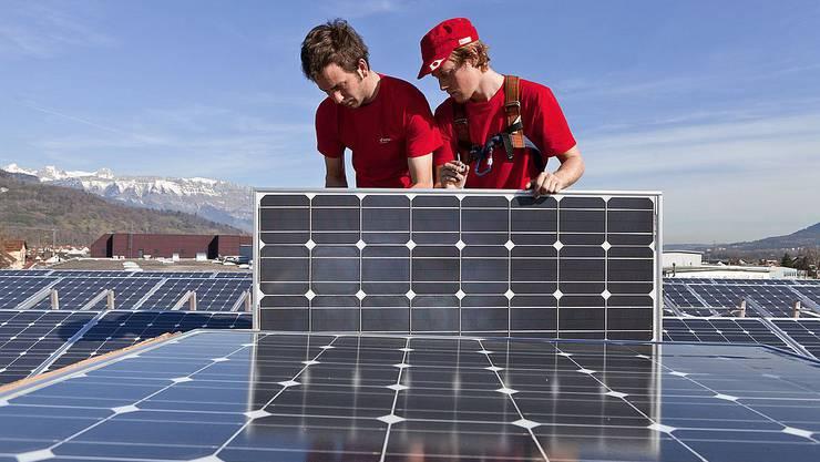 Solaranlagen sollen auf Allschwiler Dächer