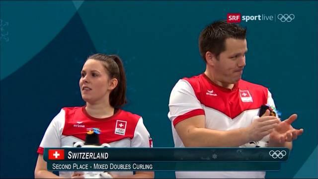 Erste Olympia-Medaille für die Schweiz