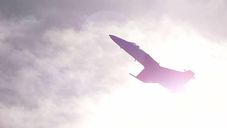 F/A-18 an der Fliegershow Axalp