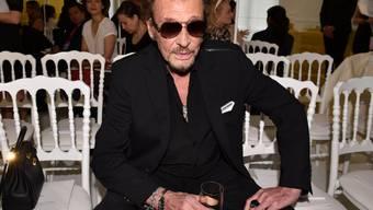 Schlangen vor den Musikläden: Heute erscheint posthum das letzte Album der französischen Rocklegende Johnny Hallyday. (Archivbild)