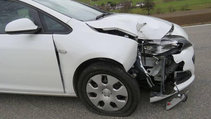 Am Auto stand erheblicher Sachschaden.