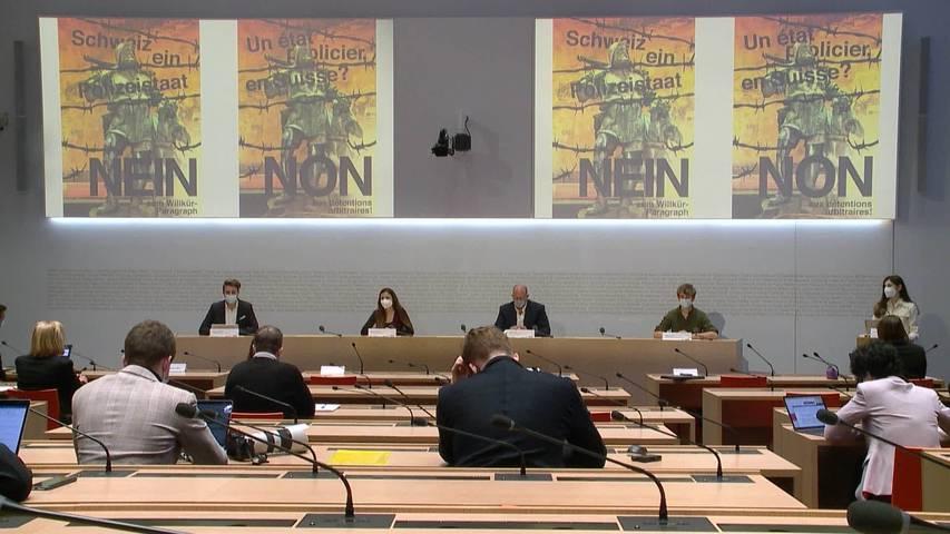 Abstimmung im Juni: KKS wirbt für Terrorismus-Gesetz