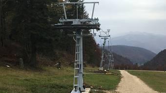 Der neue Trainingslift ist 390 Meter lang und vergrössert das Skigebiet Grenchenberg wesentlich.