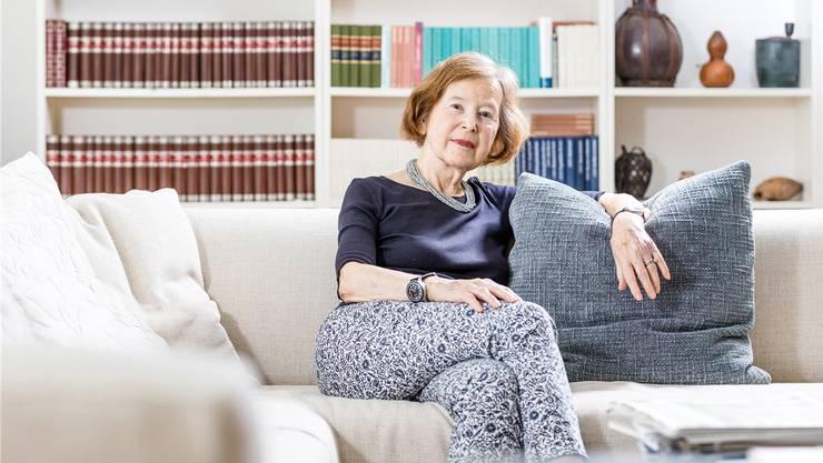 Nimmt nicht am Tag des Frauenstreiks teil: Elisabeth Kopp, die erste Bundesrätin der Schweiz.Sandra Ardizzone