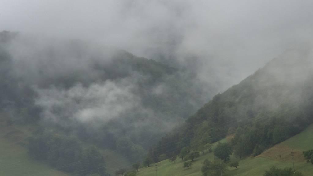 Trübes Wetter: Auf der Alpensüdseite wurde laut SRF Meteo der bisher sonnenärmste Dezember verzeichnet. Und auch im Mittelland sah es nicht viel besser aus: Die Sonne zeigte sich so wenig wie kaum je zuvor. (Archivbild)