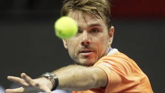 Stan Wawrinka steht erst zum zweiten Mal in diesem Jahr im Halbfinal eines ATP-Turniers