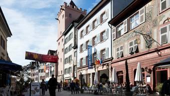 Rathaus in Rheinfelden. Keystone