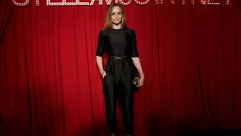 Stella McCartney hat ein Faible für Lässigkeit und Entertainment: Die britische Designerin präsentierte ihre Kleider in entsprechendem Ambiente - in Hollywood (Archiv).