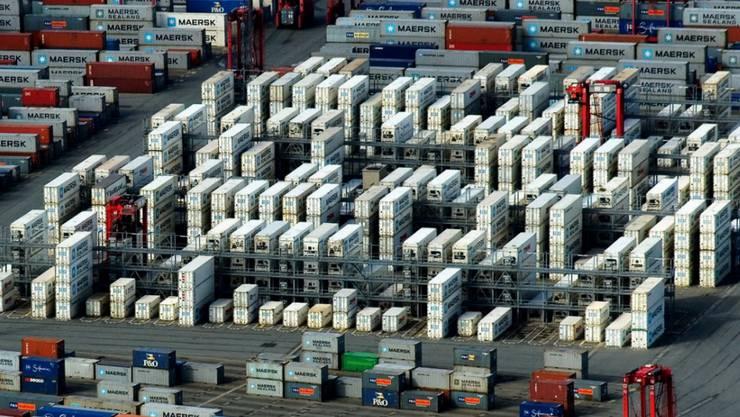 Der exportabhängigen deutschen Wirtschaft machen die Handelskonflikte, die Abkühlung der Weltkonjunktur und Risiken wie der Brexit zu schaffen. (Archivbild)
