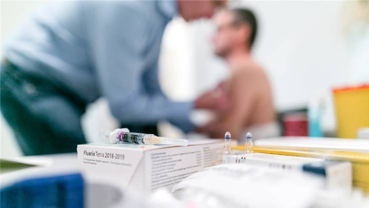 Diesen Winter liessen sich mehr Leute gegen Grippe impfen als im Vorjahr. Sandra Ardizzone/Archiv