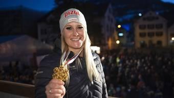 Julie Zogg fährt noch und noch Medaillen heraus