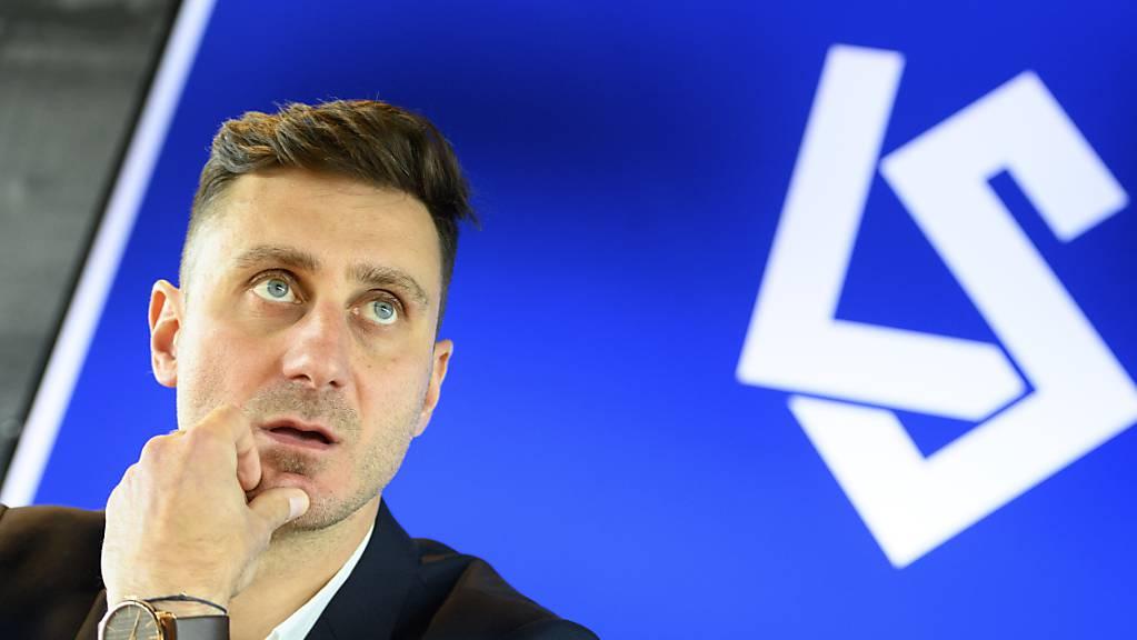 Der neue Mann an der Seitenlinie von Lausanne-Sport: Ilija Borenovic.