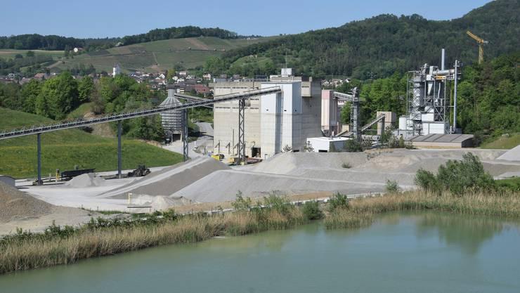 Erweiterung Kiesabbau Lindenacher Ost: Die Holcim (Schweiz) AG möchte das Abbaugebiet erweitern für das Kieswerk Mülligen
