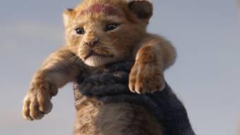 """""""The Lion King"""" hat am Wochenende vom 25. bis 28. Juli 2019 mehr als 100'000 Filmfans in die Deutsch- und Westschweizer Kinos gelockt. (Archiv)"""