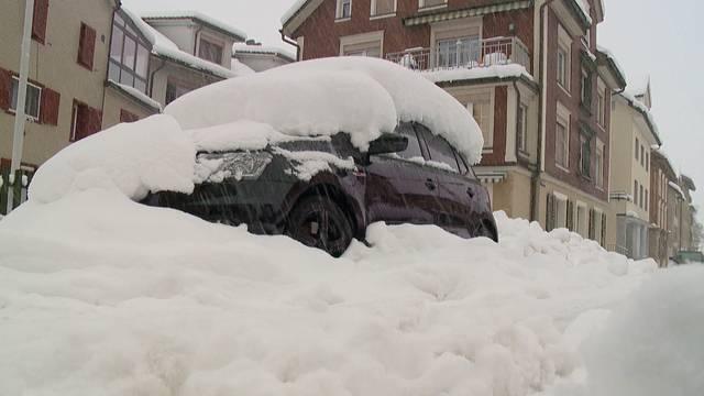 April: So viel Schnee wie den ganzen Winter nicht