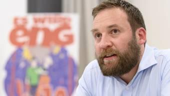 Das Verteidigungsdepartement will seine Aussagen nicht kommentieren: SVP-Nationalrat Lukas Reimann.