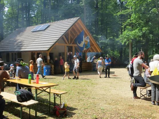 Bürgerhütte von der Bürgergemeinde Frenkendorf