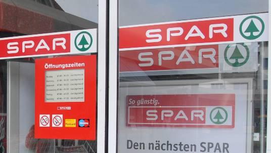 Als die Polizei beim SPAR eintraf, waren die Einbrecher schon nicht mehr da. (Symbolbild)
