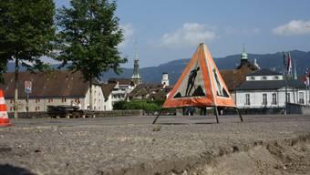 Verschiedene Eindrücke des Kreuzackerplatz in Solothurn