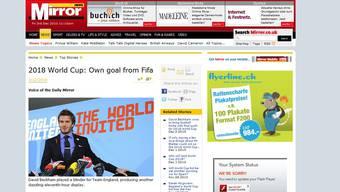 Pressestimmen zur WM-Vergabe