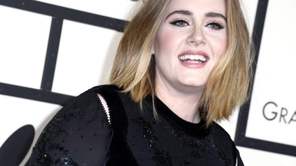 Die breite Öffentlichkeit bekommt ihn wohl nie zu sehen: Doch Sängerin Adele trägt bekanntlich einen Damenbart namens Larry. (Archiv)