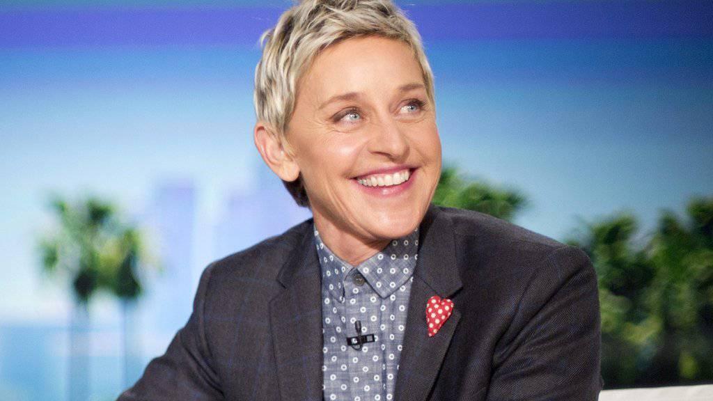 Alkohol half ihr dabei, Donald Trumps Wahlsieg zu ertragen: Talkmasterin Ellen DeGeneres. (Archivbild)