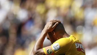Den Young Boys und Stürmer Guillaume Hoarau ist der Saisonstart misslungen
