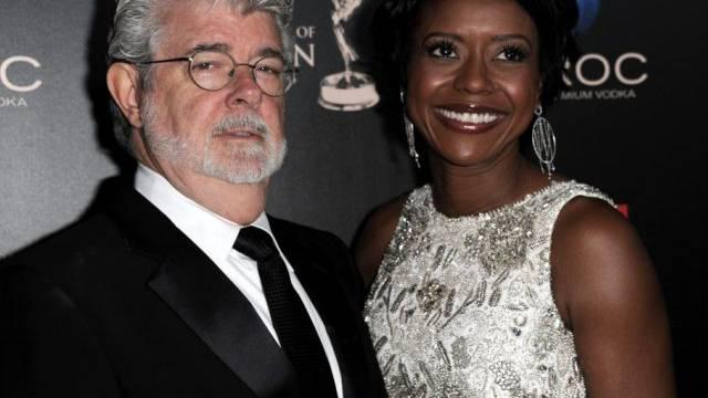 Im Hafen der Ehe: George Lucas und Mellody Hobson (Archiv)