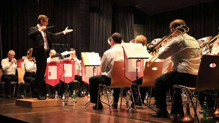 MG Brass Band spielt in Wettbewerben zweite Klasse, doch fu¦êr einen Musikdorfverein sicher erstklassig.
