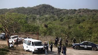 Mexikanische Sicherheitskräfte haben zwei Drogenbosse getötet, die sich ihren Festnahmen entziehen wollten. (Archivbild)