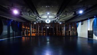 Im Rhysaal werden Veranstaltungen wie Konzerte und Shows stattfinden.