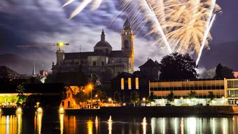 Feuerwerk in Solothurn
