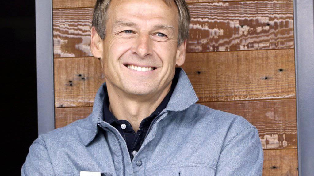 Lacht er bald in Australien? Jürgen Klinsmann soll Interesse am Posten als australischer Nationalcoach haben