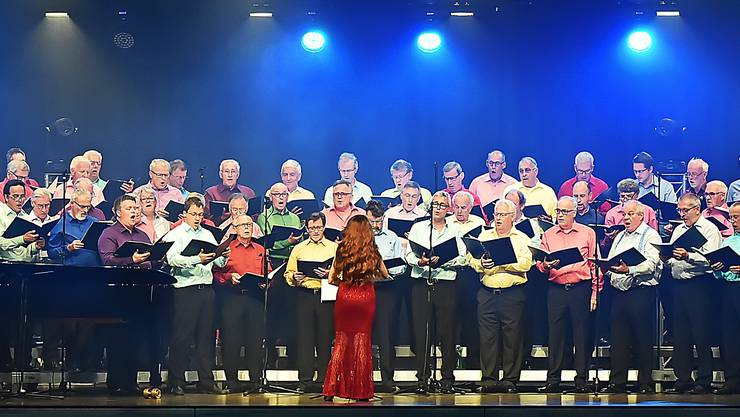 Der Männerchor Kappel und der Sängerverein Thalwil konzertierten vor vollen Rängen in der Raiffeisenarena Hägendorf.