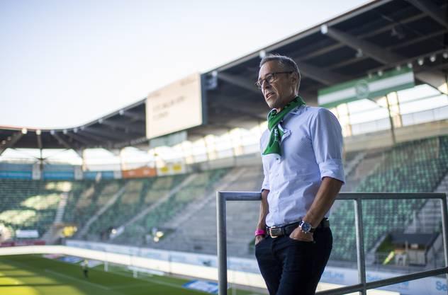 Matthias Hüppi will, dass sein Club mehr Verantwortung übernimmt.