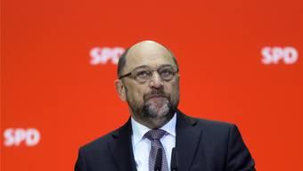 In Bedrängnis: SPD-Chef Schulz.Key