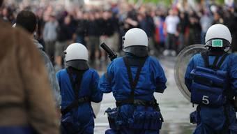 Gewalt nach Fussballspielen ist in der Stadt Zürich seit jeher ein Problem. (Symbolbild)