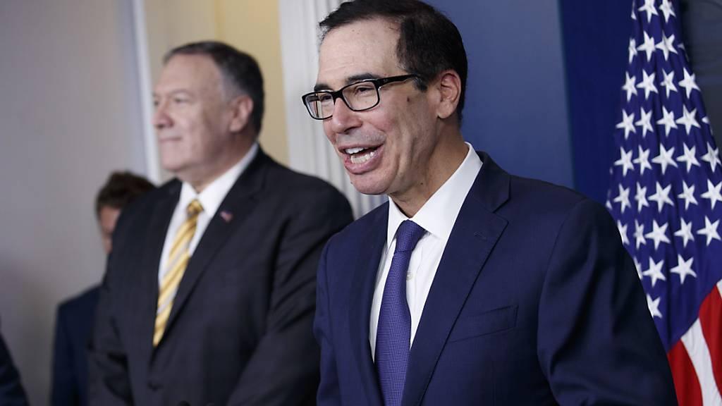 US-Finanzminister Mnuchin führt amerikanische Delegation ans WEF an