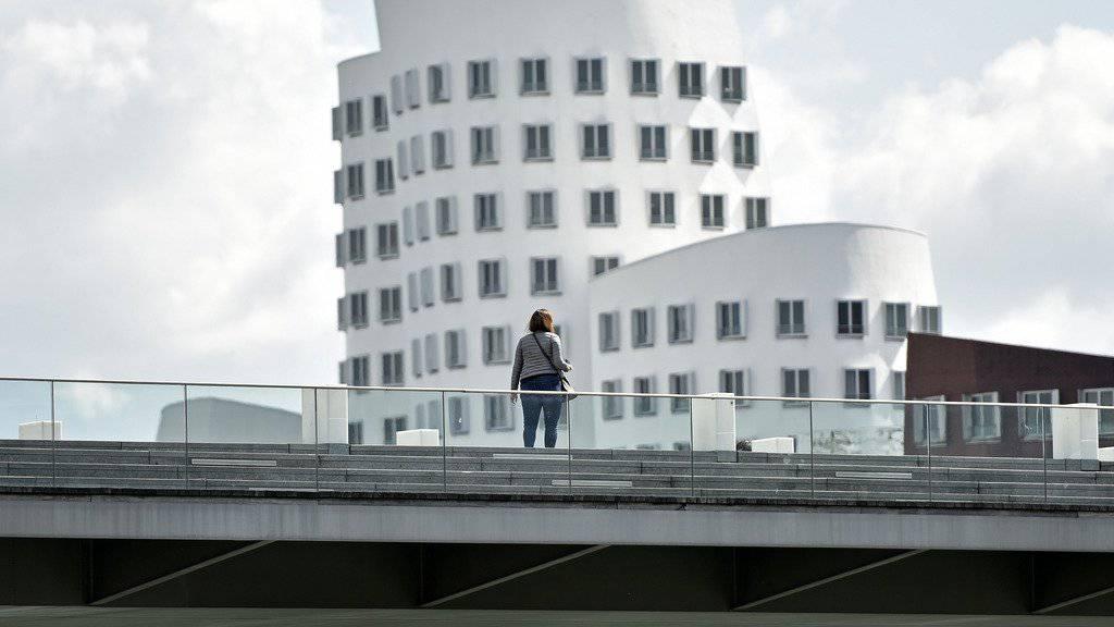 Blick auf Düsseldorf, wo ein IS-Anschlag geplant war.