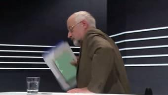 SRF Arena 4.3.2016: Dieter Freiburghaus verlässt das TV-Studio