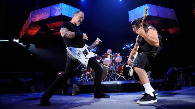 Die Metal-Helden von Metallica (hier in Assago 2009) spielen am 30. Mai am Festival Sonisphere, das neu von der Ringier-Tochter Starclick organisiert wird