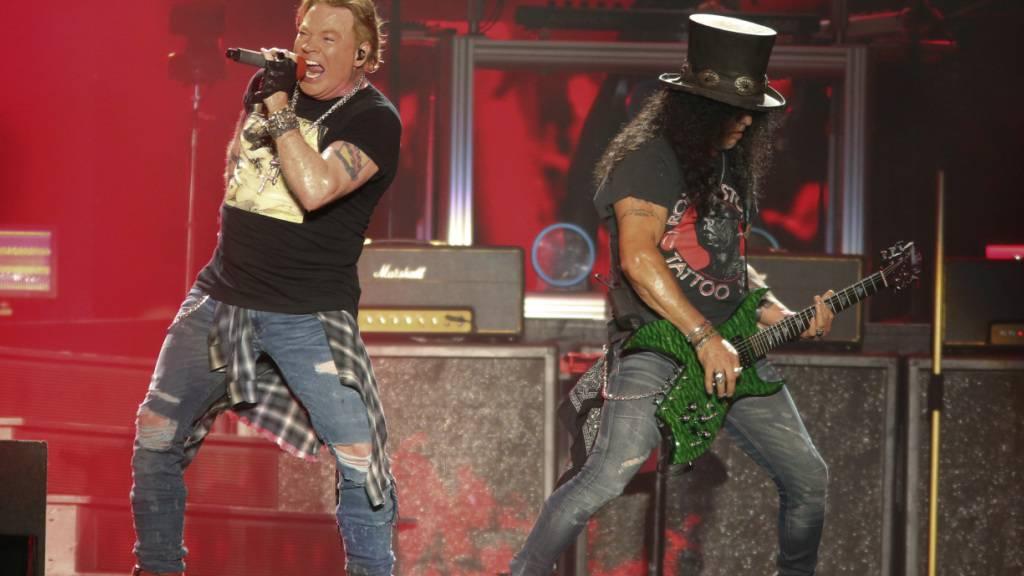 Kultband Guns N' Roses kündigt Tour an