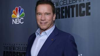 """Arnold Schwarzenegger tritt in der Castingshow """"The New Celebrity Apprentice"""" in die Fussstapfen von Donald Trump - und fiel prompt bei der ersten Folge quotenmässig durch. (Archivbild)"""
