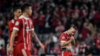 Klar dominiert, und doch verloren: Den Bayern blieb gestern nur die Enttäuschung.
