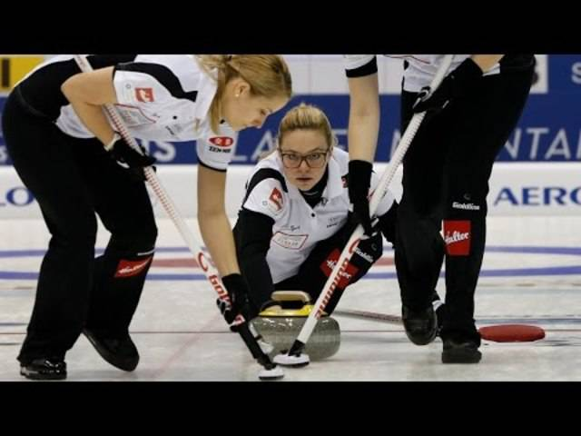 Highlights des Curling-WM-Finals 2015 zwischen der Schweiz und Kanada